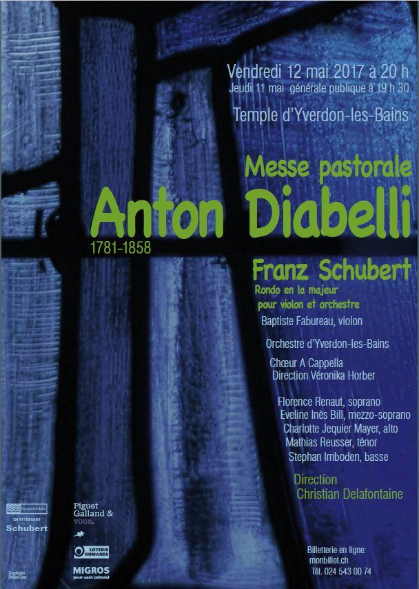 Affiche Diabelli Schubert